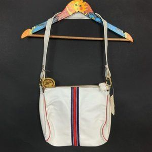 Vintage 1970's Letisse White Leather Purse NEW